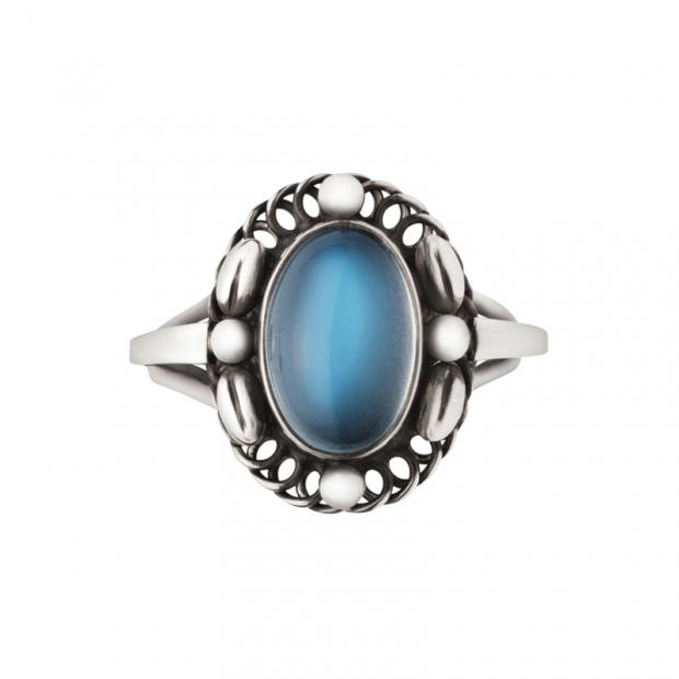 Moonlight Blossom Ring 925 Silber