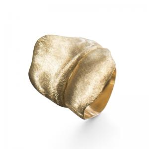 Ole Lynggaard Leaves Ring large, 750 Gelbgold