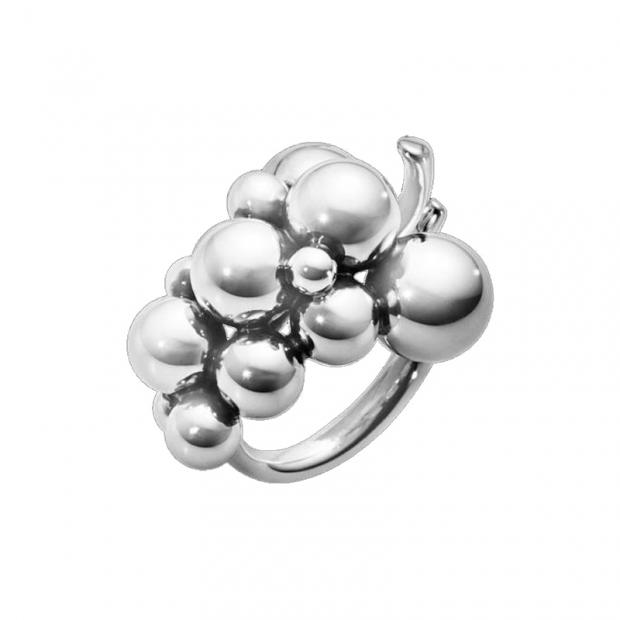 Moonlight Grapes Ring medium 925 Silber