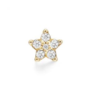 Ole Lynggaard Charm Spot Shooting Stars 750 Gelbgold, 6 Brillaten zus. 0.49 ct TW.VS