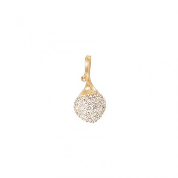 My little World Charm 750 Gelbgold mit Brillanten