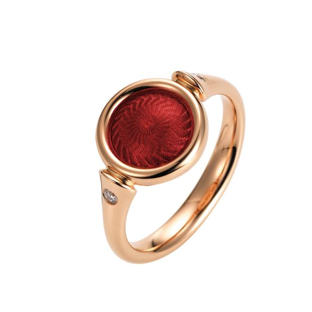 Candy Ring 750 Roségold