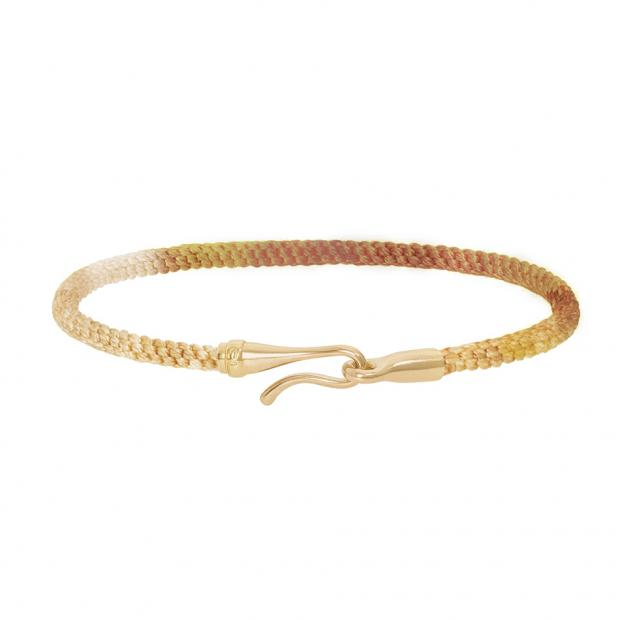 Life Armband Golden Day 750 Gelbgold