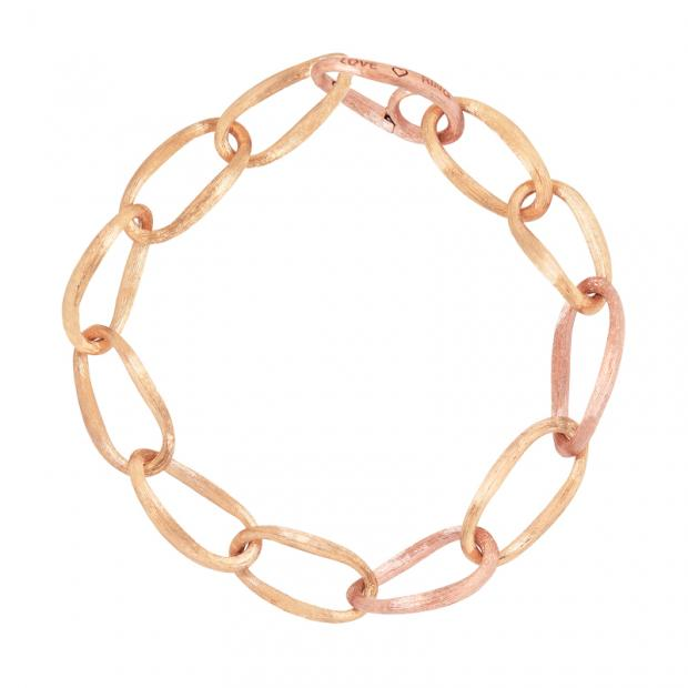 Love Armband 750 Gelbgold