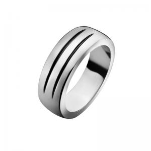 Georg Jensen Avenue Ring 344, 925 Silber