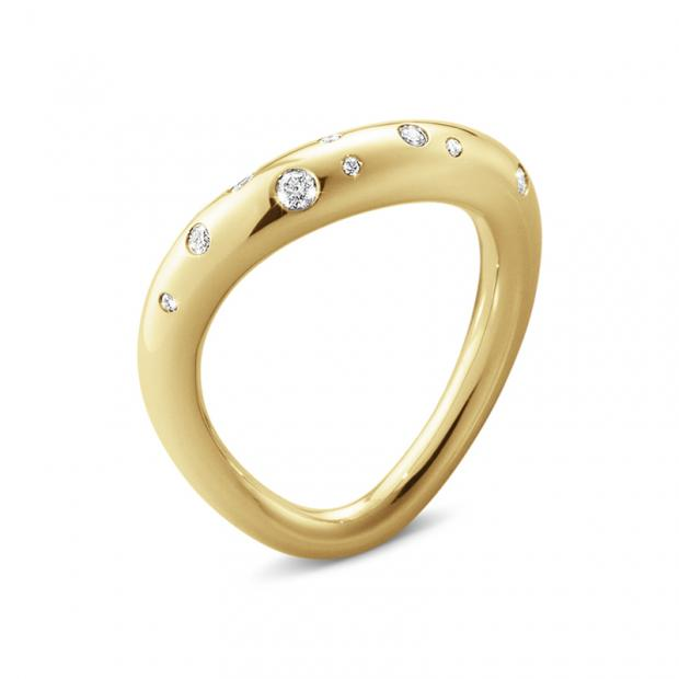 Offspring Ring 750 Gelbgold mit Brillanten