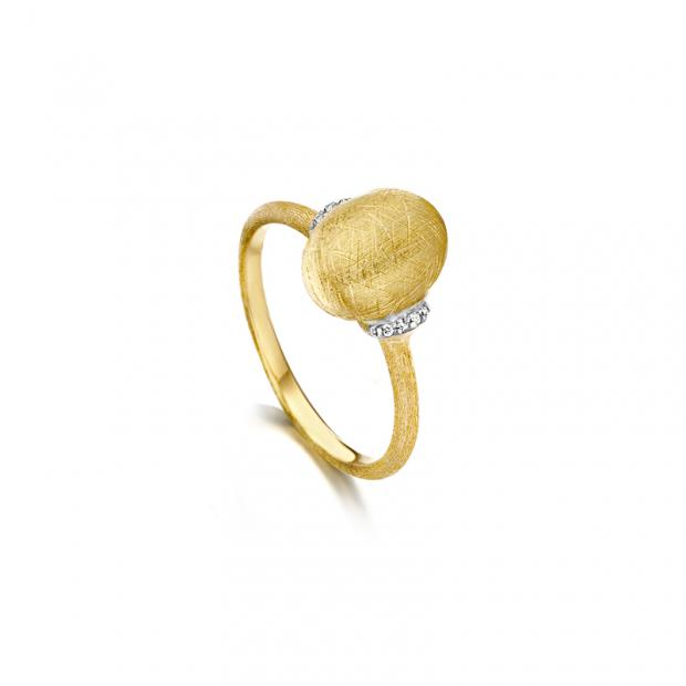 Dancing Every Day Ring 750 Gelbgold mit Brillanten