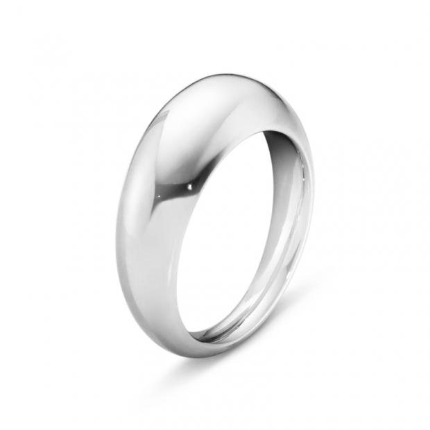 Curve Ring 925 Silber