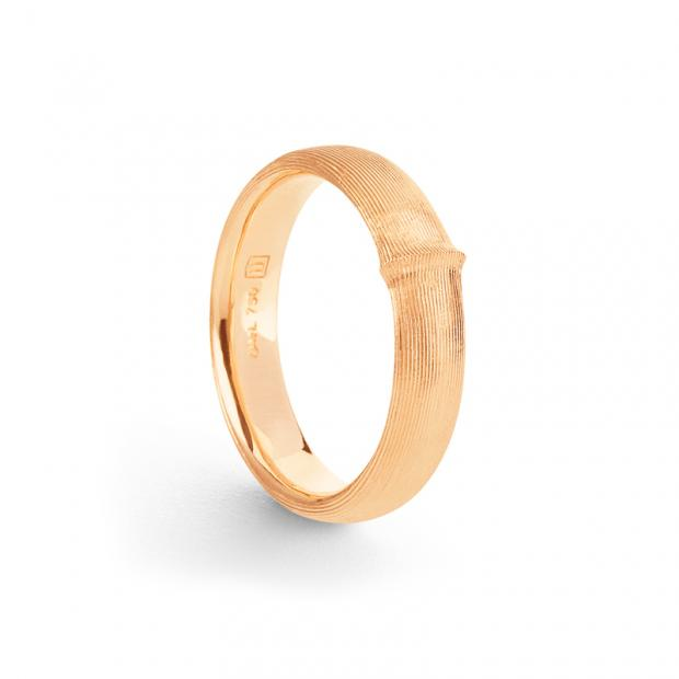 Nature Ring 750 Gelbgold